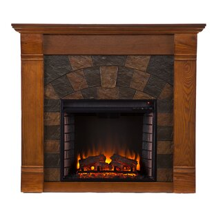 Electric Fireplace by Alcott Hill