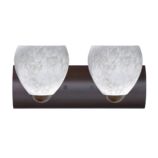 Besa Lighting Bolla 2-Light Vanity Light
