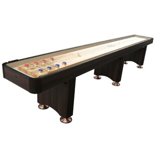 Woodbridge 16' Espresso Shuffleboard By Playcraft