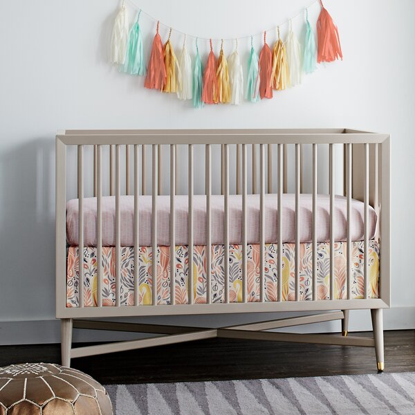 Dwell Studio Mid Century 3 In 1 Convertible Crib & Reviews by Dwell Studio
