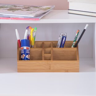 Terence Bamboo Desk Organiser By Natur Pur