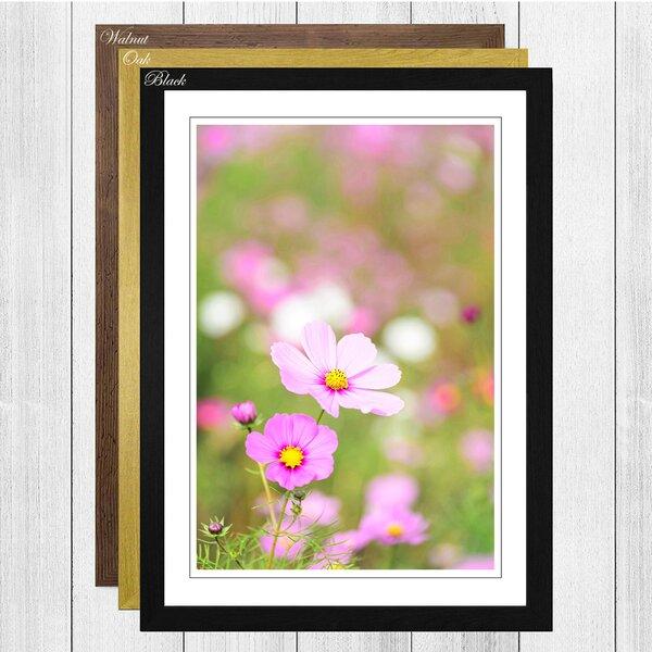 Big Box Art Spring Pink Flowers Framed Photographic Print Wayfair Co Uk