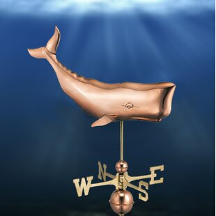 Broomsedge Whale Weathervane By Sol 72 Outdoor