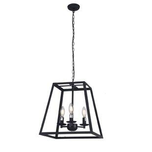 Andover Mills Lucienne 3-Light Lantern Chandelier