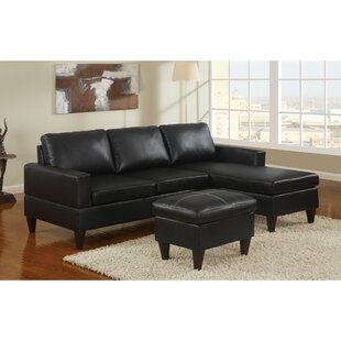 Best Reviews Coronado All-in-One Sectional with Ottoman by Winston Porter Reviews (2019) & Buyer's Guide