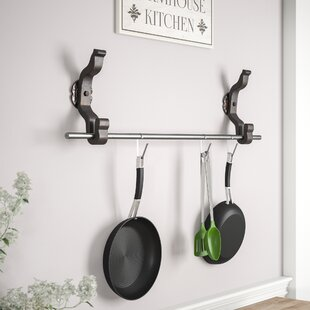 Pot And Pan Rack Set by Gracie Oaks Sale