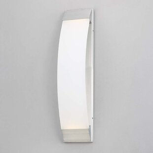 Roenker 1 Light LED Outdoor Sconce by Orren Ellis