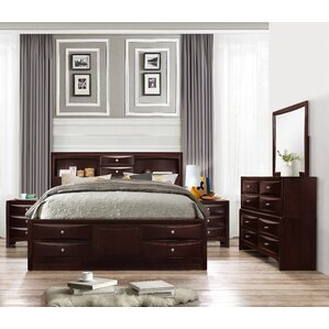 espresso bedroom furniture. Oreland Platform 5 Piece Espresso Bedroom Set Sets You ll Love  Wayfair