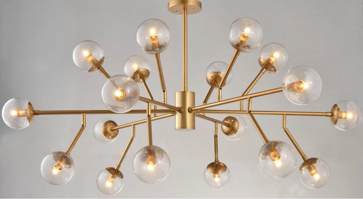 Schwerin 18 Lights Sputnik Chandelier