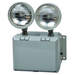 Wet Location Emergency Lighting Unit With Remote Capable