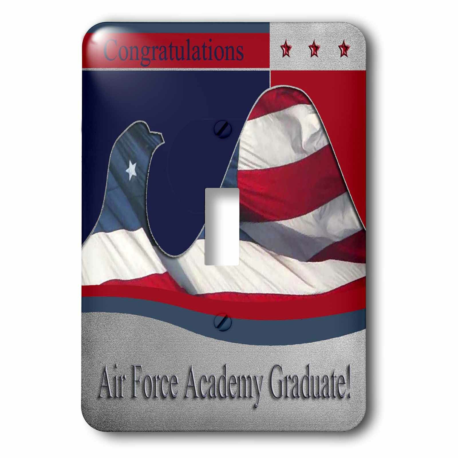 3drose Air Force Academy Graduate 1 Gang Toggle Light Switch Wall Plate Wayfair
