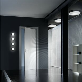 ZANEEN design 1-Light Flush Mo..