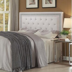 Sarabia Upholstered Panel Headboard by Harriet Bee