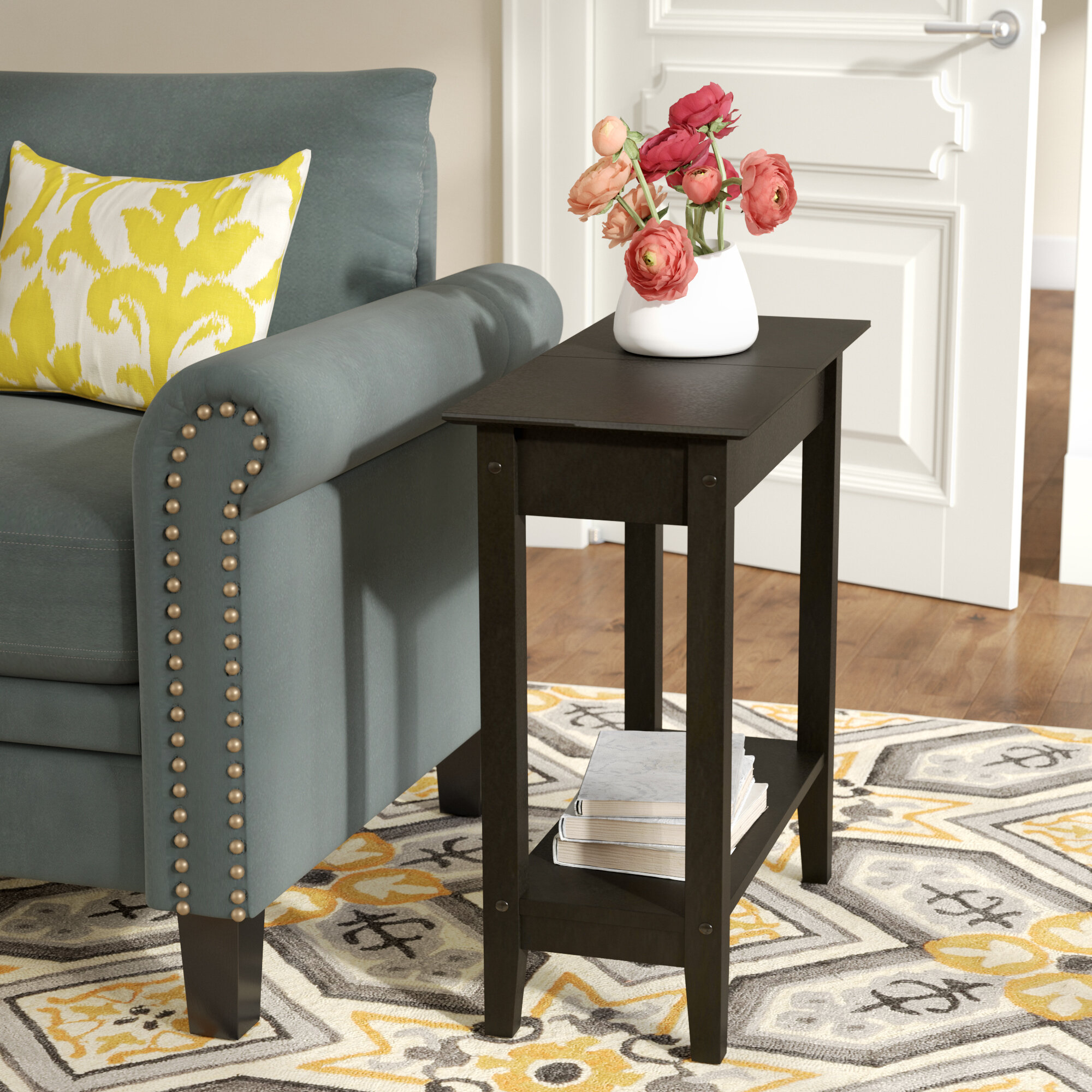 Andover Mills Haines End Table with Storage & Reviews | Wayfair