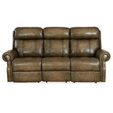 Brooks Leather Reclining Sofa by Hooker Furniture