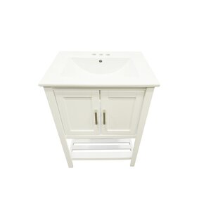Freels 24 Single Bathroom Vanity Set by Charlton Home