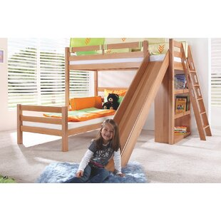 Fairley Fain European Single L-Shaped Bunk Bed By Zoomie Kids