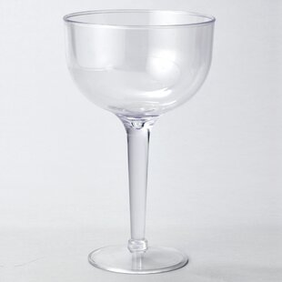 Plastic Disposable Wine Glass (Set of 12)