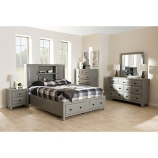 Alyse Panel 6 Piece Bedroom Set