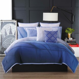 Talia Abstract Reversible Comforter Set