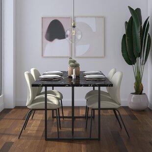 Rectangular Faux Marble Table Wayfair