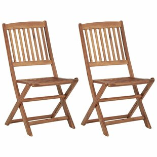 Somnus Folding Dining Chair (Set Of 2) By Sol 72 Outdoor