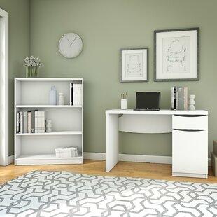 Latitude Run Montrese 2 Piece Desk Office Suite