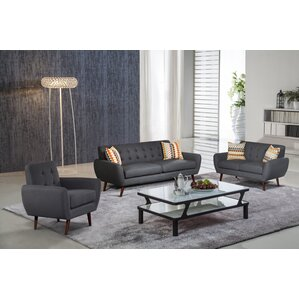 Diara 3 Piece Living Room ..