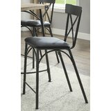Braffe 24 Bar Stool with Cushion (Set of 2) by Latitude Run
