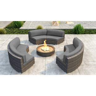 Gilleland 3 Piece Sectional Set with Sunbrella Cushion by Orren Ellis