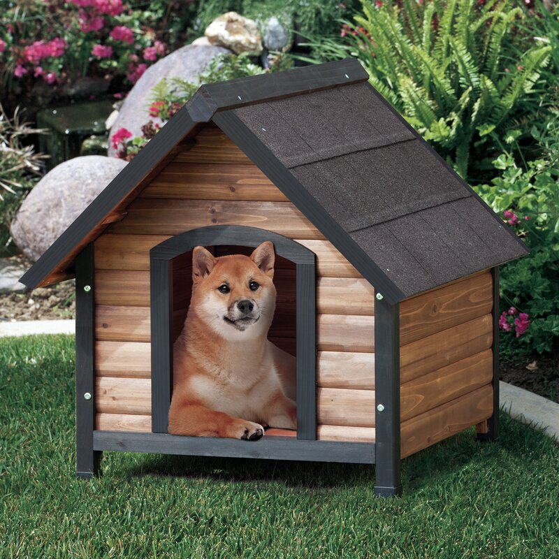 Precision pet outback extreme country lodge dog house for Extreme dog houses