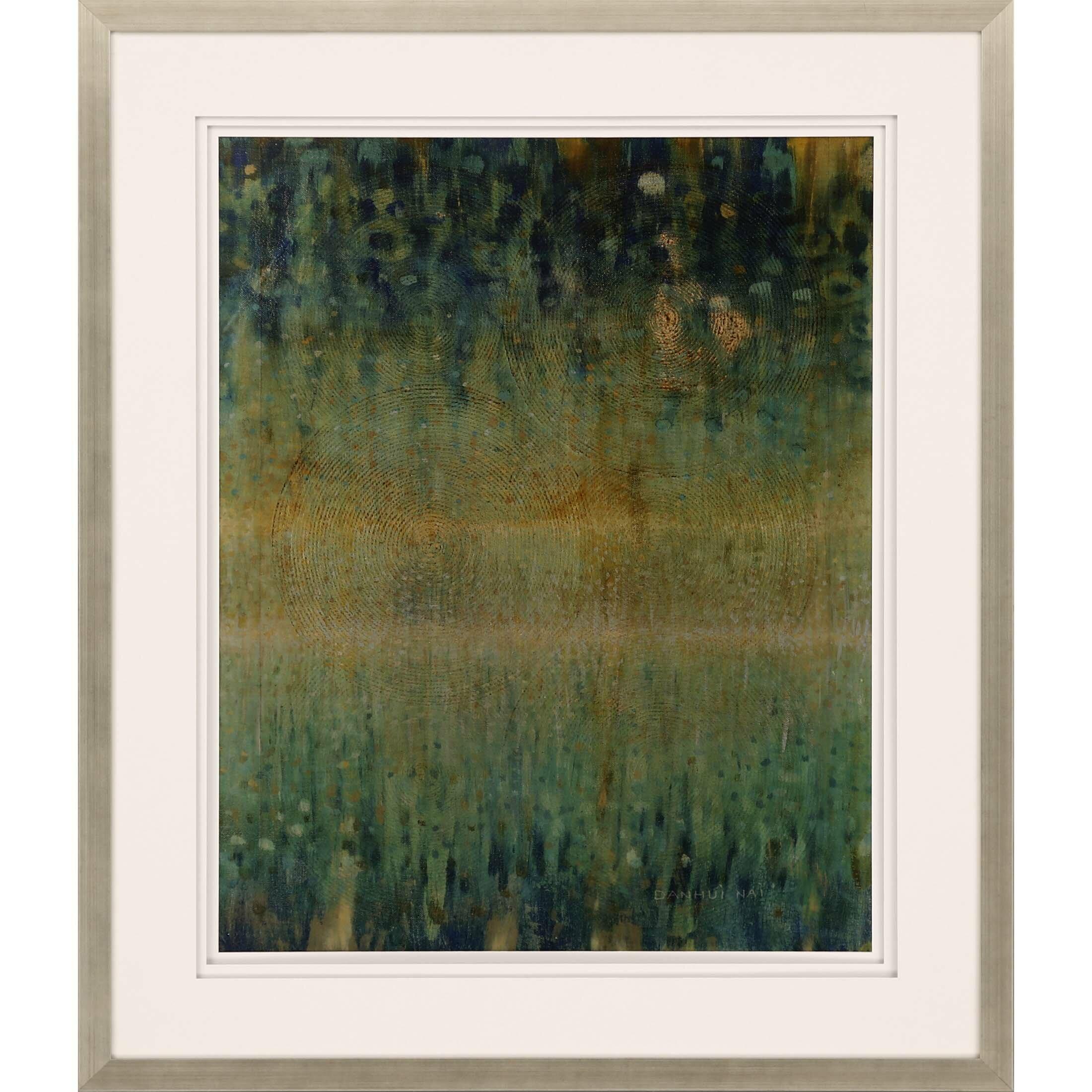 Wrought Studio Rain Abstract Framed Painting Wayfair