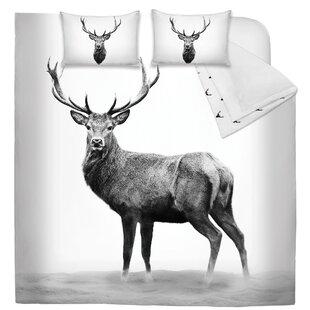 Devine Deer Printed Reversible Comforter Set