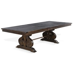 Gracie Oaks Sebastian Trestle Dining Table