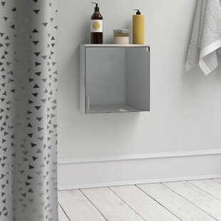 40 X 40cm Mirrored Wall Mounted Cabinet By Belfry Bathroom
