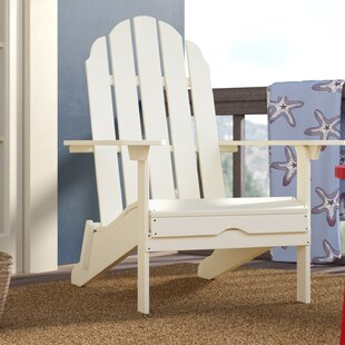 Beachcrest Home Quinault Plastic Adirondack Chair
