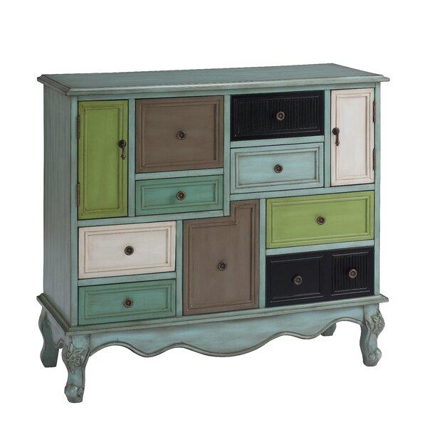 Freemanstown 9 Drawer 2 Door Accent Cabinet