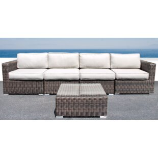 Whitmer 5 Piece Sectional Set with Cushions