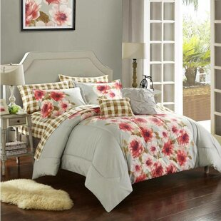 Georgina 9 Piece Reversible Comforter Set by Casa Purchase