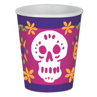 Day of the Dead Paper Disposable Cup