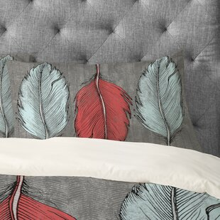 Wesley Bird Feathered Pillowcase