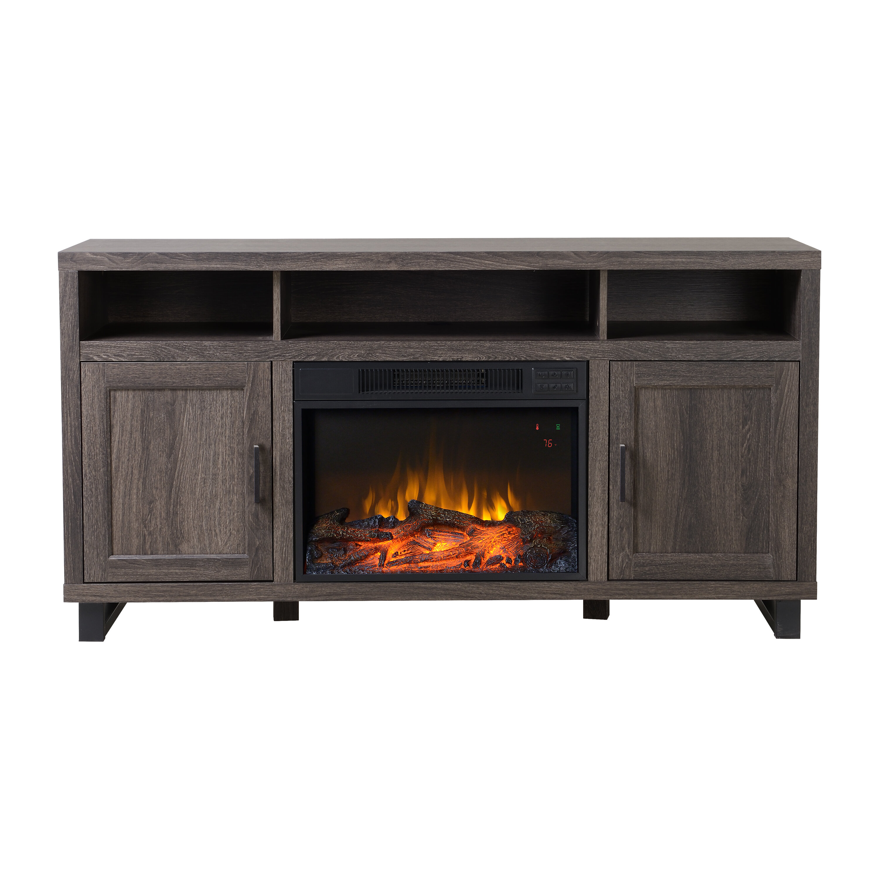 gracewood garden shipping blvd alessia harper hollow store overstock free fireplace electric black today home product ridge
