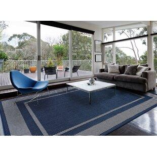 Castellanos Navy Blue Indoor/Outdoor Area Rug