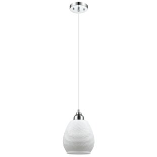 Treva 1-Light Cone Pendant by Ebern Designs