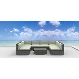 Tahiti 9 Piece Sectional Set with Cushions