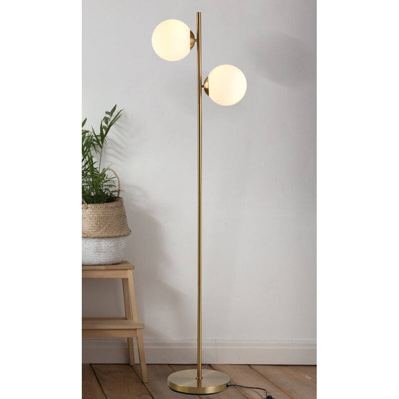 George Oliver Alviva 65 Tree Floor Lamp Wayfair