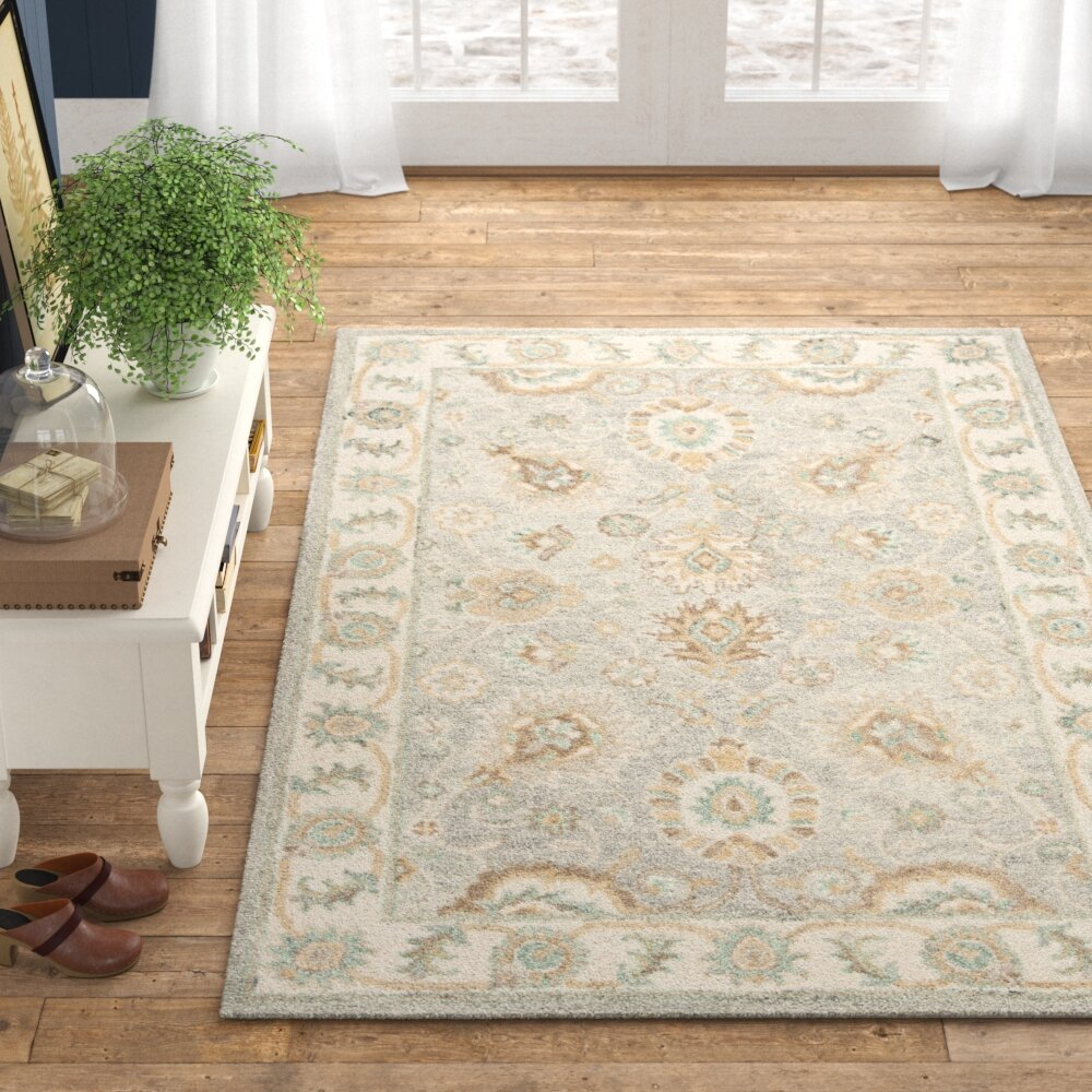 Melfort Hand Tufted Wool Ivory Area Rug Reviews Birch Lane