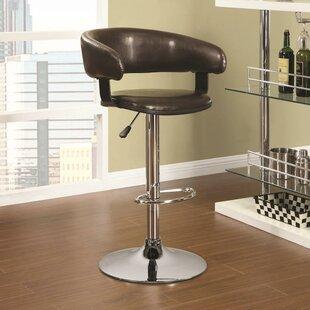 Adjustable Height Swivel Bar Stool by Infini Furnishings