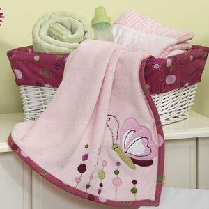 Rena Plush Blanket with Applique