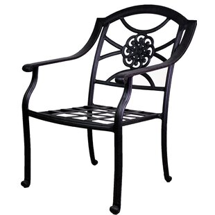 Ross Stacking Patio Dining Chair